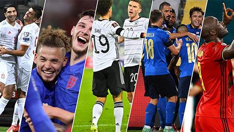 Dự đoán vòng loại World Cup 2022 khu vực châu Âu: Anh hạ Ba Lan, Italia, Pháp thắng trở lại