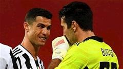 Buffon bảo vệ Ronaldo trước fan Juventus