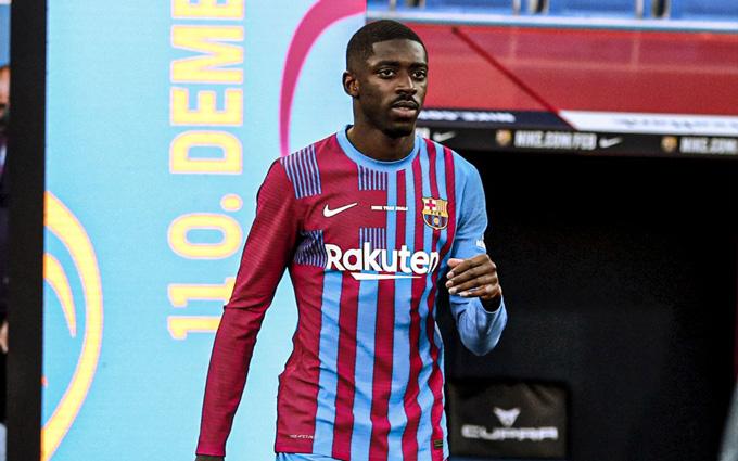 Dembele chưa chịu gia hạn với Barca