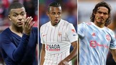 Cavani, Mbappe & những ngôi sao có thể đổi CLB trong tháng 1/2022
