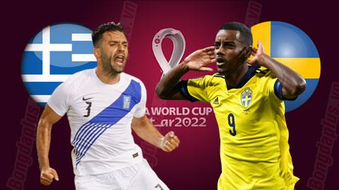 Nhận định bóng đá Hy Lạp vs Thụy Điển, 01h45 ngày 9/9