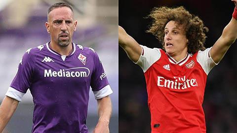 David Luiz sắp thành đồng đội của Franck Ribery