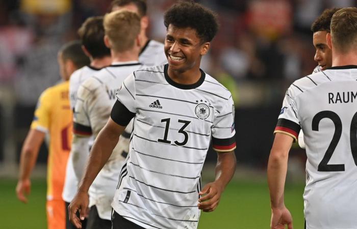 Karim Adeyemi vừa có màn ra mắt ấn tượng trong màu áo ĐT Đức