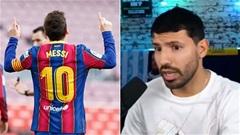 Tại sao Aguero không mặc áo số 10 của Messi ở Barca?