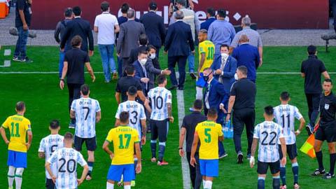 Cảnh sát điều tra 4 đồng đội của Messi tại ĐT Argentina