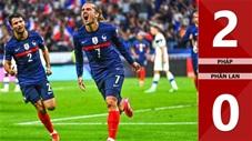 Pháp vs Phần Lan: 2-0 (Vòng loại World Cup 2022)
