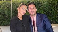 Nhà Messi đã thích nghi với cuộc sống mới ở Paris