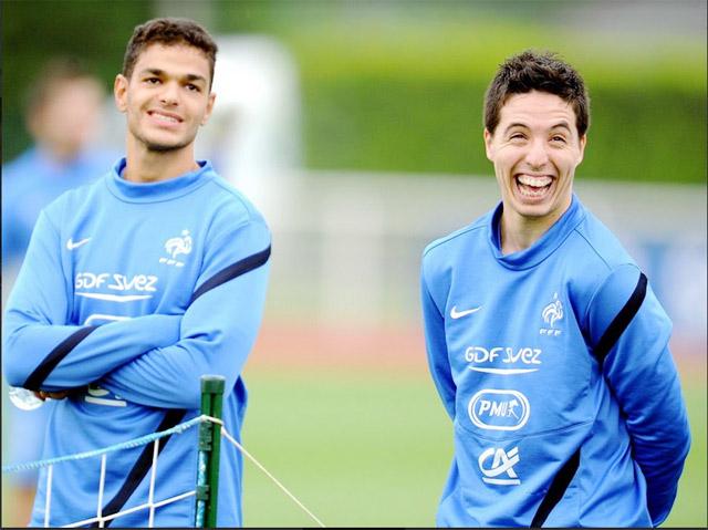 Ben Arfa và Nasri đang chưa có CLB mới