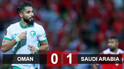 """Kết quả ĐT Oman 0-1 Saudi Arabia: Không có """"động đất"""""""