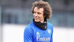 David Luiz sắp có bến đỗ mới sau khi rời Arsenal