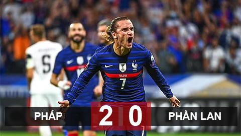 Kết quả Pháp 2-0 Phần Lan: Ngày của Griezmann