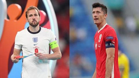 Ba Lan vs Anh: Lewandowski vs Kane đối pháo