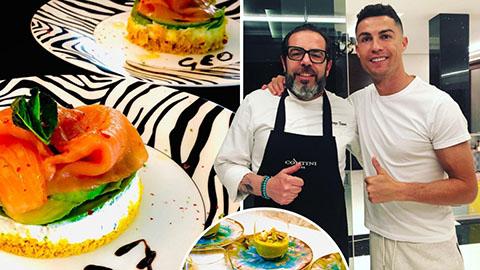 Thực đơn của Ronaldo: Bạch tuộc, gạo lứt cẩm và dầu dừa