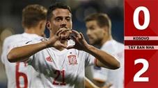 Kosovo vs Tây Ban Nha: 0-2 (Vòng loại World Cup 2022)