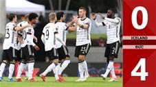 Iceland vs Đức: 0-4 (Vòng loại World Cup 2022)