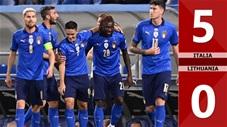 Italia vs Lithuania: 5-0 (Vòng loại World Cup 2022)