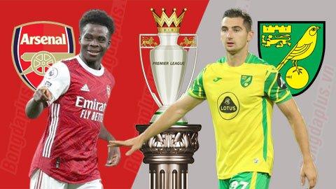 Nhận định bóng đá Arsenal vs Norwich, 21h00 ngày 11/9: Xẻ thịt hoàng yến