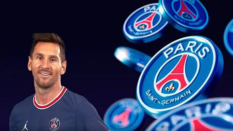 PSG mua Messi để kiếm lãi từ tiền ảo?