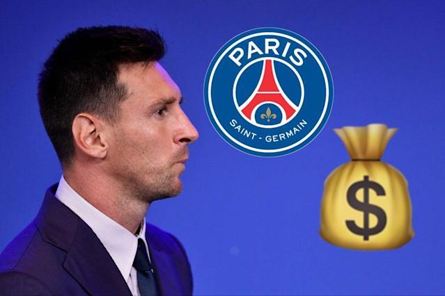Messi nhận một phần lương từ PSG bằng tiền ảo