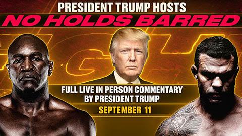 Cựu tổng thống Hoa Kỳ Donald Trump sẽ thử sức ở vai trò BLV quyền anh