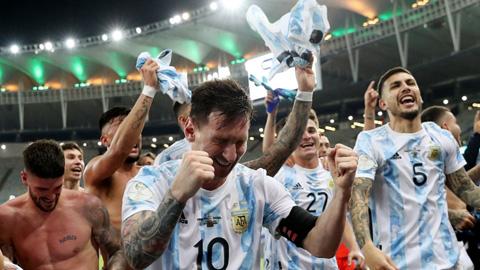 """Messi: """"Có một bộ phận báo chí coi tôi như kẻ thất bại"""""""