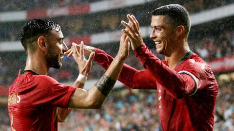 Chỉ cần được tự do, Bruno sẽ tìm thấy Ronaldo