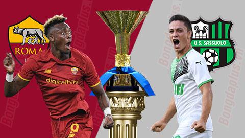Nhận định bóng đá Roma vs Sassuolo, 01h45 ngày 13/9: Chiến thắng vì Mourinho