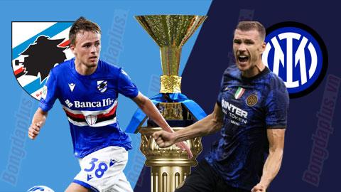 Nhận định bóng đá Sampdoria vs Inter Milan, 17h30 ngày 12/9: 3 điểm cho mốc 200 trận của HLV Inzaghi