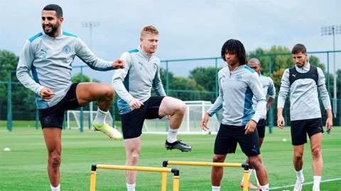 HLV Guardiola cập nhật tình hình nhân sự của Man City trước trận gặp Leicester City