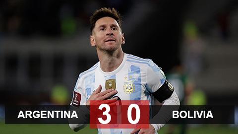 Kết quả Argentina 3-0 Bolivia: Messi lập hat-trick, phá kỷ lục của Pele