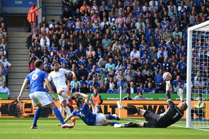 Silva ghi bàn duy nhất của trận đấu