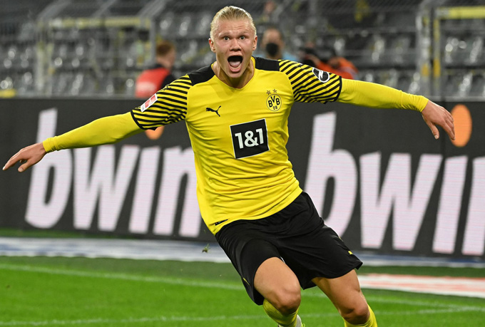 Haaland tỏa sáng ở trận Leverkusen vs Dortmund với 2 bàn thắng cùng 1 kiến tạo