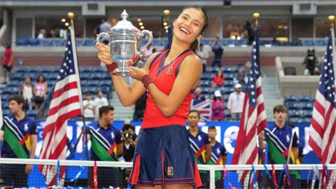 Tay vợt vòng loại Emma Raducanu vô địch US Open 2021