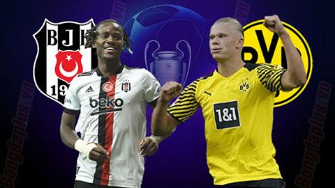 Nhận định bóng đá Besiktas vs Dortmund, 23h45 ngày 15/09: Nghiền nát Besiktas