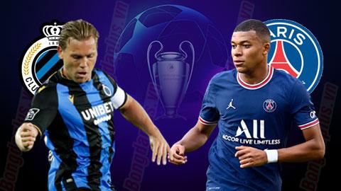 Nhận định bóng đá Club Brugge vs PSG, 02h00 ngày 16/9: Ai cản nổi PSG?