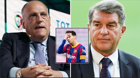 Barcelona mất Messi vì sợ hãi Florentino Perez