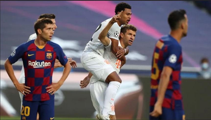 Bayern hạ nhục Barca ở lần chạm trán gần nhất