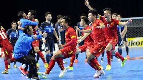 ĐT futsal Việt Nam hãy cứ bay cao tại World Cup