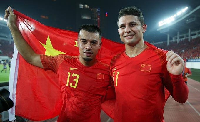 Những cầu thủ nhập tịch của Trung Quốc vô hại ở 2 lượt đầu vòng loại thứ 3 World Cup 2022
