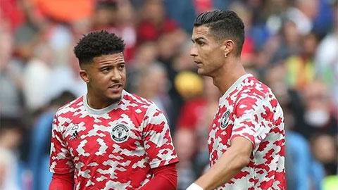 Sancho xin lời khuyên của Ronaldo trước chiến thắng của MU