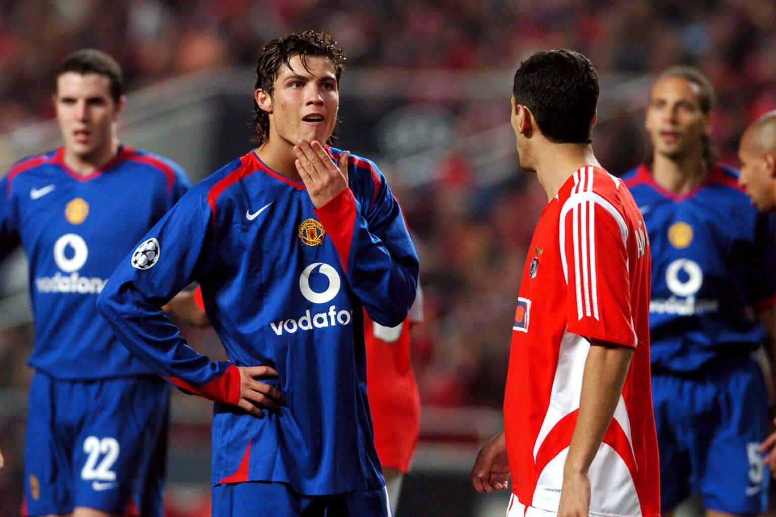 Ronaldo và sự nổi loạn trong trận thua Benfica, yếu tố khiến anh bị Sir Alex quạt vào mặt một cách hiếm hoi