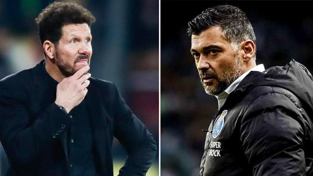 HLV Diego Simeone của Atletico sẽ đau đầu khi phải đối mặt với bản sao Sergio Conceicao