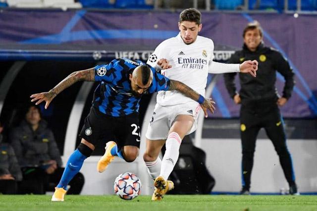 Real đều hạ bệ Inter ở cả 2 lượt trận vòng bảng Champions League mùa trước.