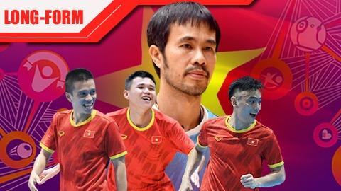 """ĐT futsal Việt Nam: Những """"chiến binh sao vàng"""" đã sẵn sàng tô vẽ World Cup"""