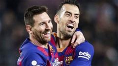 """Busquets: """"Barca có thể vô địch Champions League mà không cần Messi"""""""