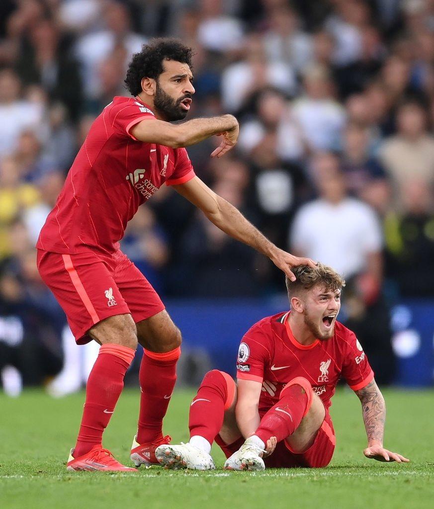 Salah sợ hãi khi nhìn Elliott