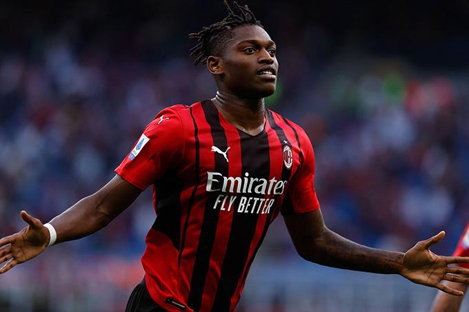 Leao mở tỷ số trong trận Milan vs Lazio