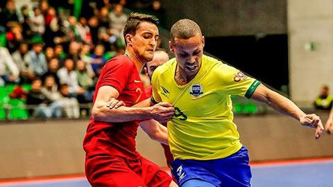 ĐT futsal Việt Nam cần coi chừng pivot số 1 thế giới khi đụng Brazil