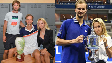 Daria Medvedeva: Lá bùa may mắn giúp Daniil Medvedev đoạt Grand Slam đầu tiên