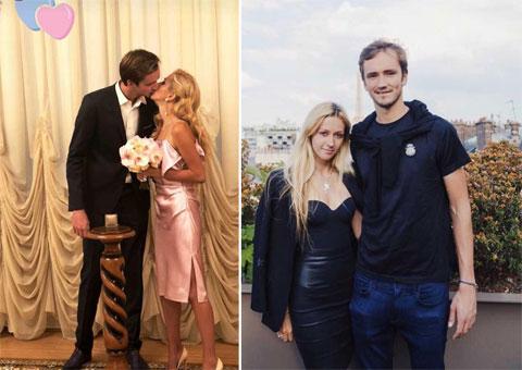 """""""Cô ấy chơi tennis đến năm 17-18 tuổi nhưng vì chấn thương nên không thể theo quần vợt như mong muốn. Dù sao vẫn thật tuyệt khi cô ấy am hiểu. Daria biết chúng tôi không thể đi mua sắm trước trận và tôi có thể bận rộn từ 8h sáng tới tối. Có lẽ thật không dễ dàng quen với chuyện ấy khi bạn không hiểu bất kỳ điều gì về tennis"""", Daniil Medvedev tiết lộ"""